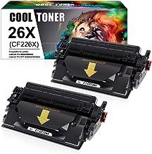 Cool Toner 26X Cartuchos de tóner Compatible para CF226X CF226A 26A para HP Laserjet Pro M402dn M402n M402d M402dw, MFP M426dw M426fdw M426fdn