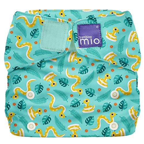 Bambino Mio Miosolo All-in-One Cloth Diaper, Jungle Snake