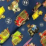 Hemmers Lizenz Jersey Paw Patrol Fahrzeuge dunkelblau -