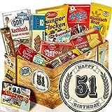 Geschenk Keks / Ost Box / Geschenke 51. Geburtstag / 51 Geburtstag Geschenk