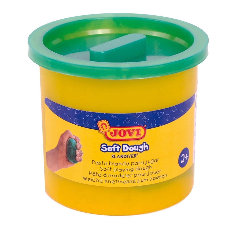 Jovi?–?Soft Dough blandiver, Case of 5?Jars, 110?g, Green (45004)