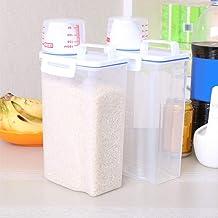 Grote Capaciteit Opslag Emmer Verdikte Opbergdoos Voedsel Opslag Kan Transparante Opslag Potten Plastic Rijst Opbergdoos M...