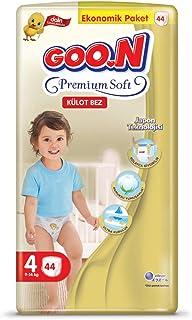 Goon Premium Soft Külot Bez, 4 Beden, Ekonomik Paket, 44 Adet, Beyaz