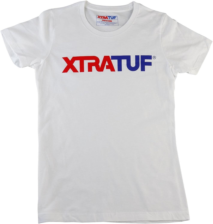 Xtratuf XA-102W-WHT-LRG Women's Short Sleeve Logo Tee, Large, White
