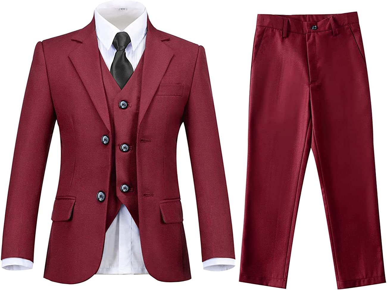 Lycody Tulsa Sale Mall Boys Suits Kids Formal 5 Wedding Dress Piece Set for Suit
