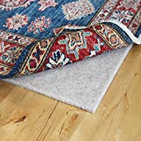 RUGPADUSA - Nature's Cushion - 8'x10' - 3/8' Thick - 100% Wool - Premium Comfort Rug Pad - No Synthetic Fibers, Made in The USA