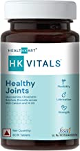 HealthKart HK Vitals Joint Support Supplement, with Glucosamine 1400mg, Chondroitin, Calcium and Vitamin D3, For Joint Str...