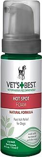 Vet's Best 3165810135 Quick Soothe Hot Spot Foam Dogs, White, 4oz