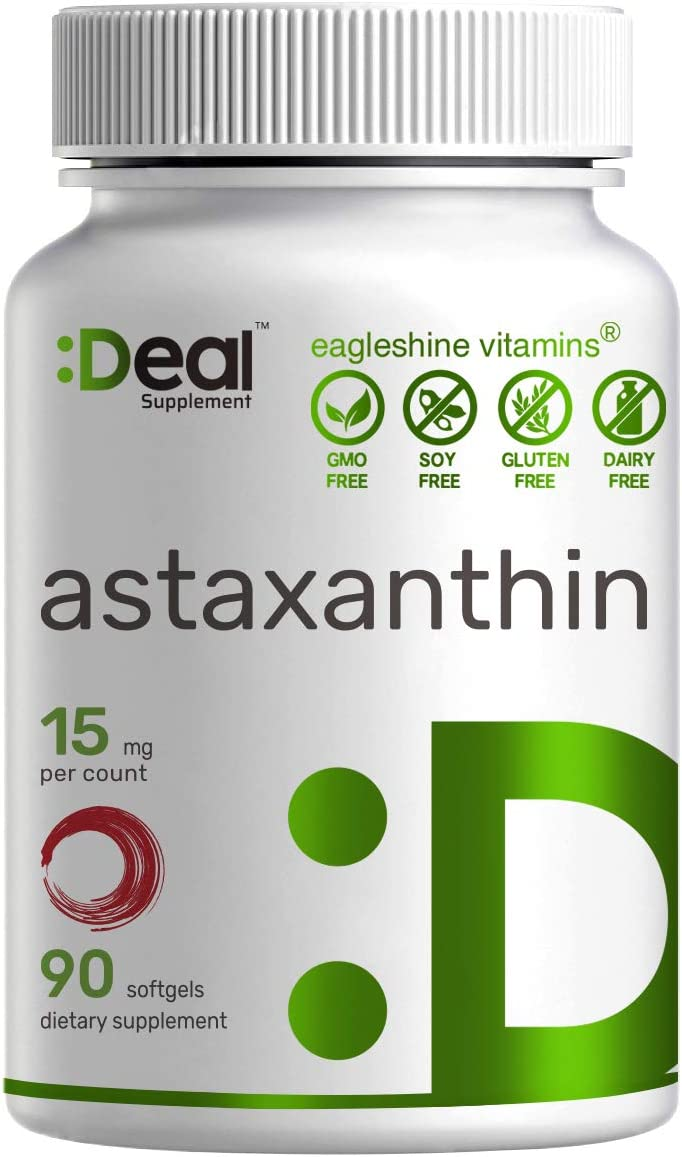 Max Ranking TOP19 Strength Cheap mail order specialty store Icelandic Astaxanthin 15mg 90 One Softgels Mini