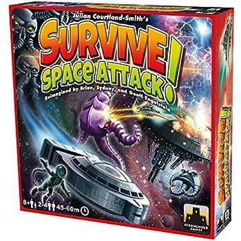 Survive Space Attack Board Game
