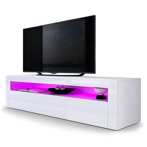 finest selection 4fb1b 983b0 White Gloss TV Unit: Amazon.co.uk