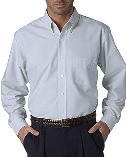 fc9e54e8440e2 UltraClub Men s Classic Wrinkle-Free Extended Oxford Shirt
