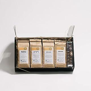 Koffie cadeaupakket Time To Take A BREWk - Geschenkset - 4 variëteiten - Feestverpakking - Koffiebonen