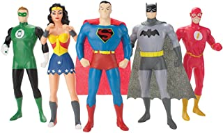 DC Comics Justice League New Frontier Bendable Action Figures Superhero Set