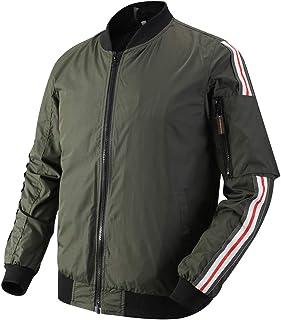 MADHERO Mens Varsity Jacket Slim Fit Lightweight Mesh Lined Casual Jackets