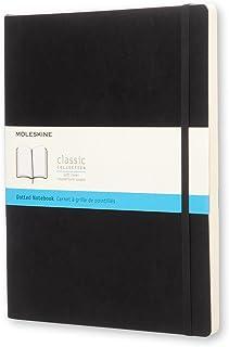 モレスキン ノート クラシック ノートブック ソフトカバー ドット XLサイズ ブラック QP624