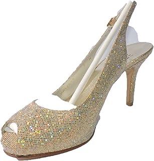 e5bbdeca427 Amazon.com: gold heel - Stuart Weitzman