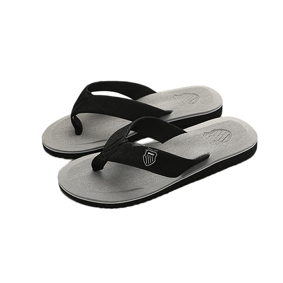 New!Todaies,Men's Summer Flip-Flops Slippers Beach Sandals Indoor Sandals Outdoor Casual Shoes 6 Colors