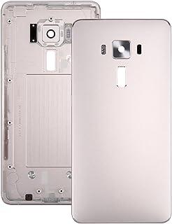 الغطاء الخلفي للهاتف المحمول Aluminium Alloy Back Battery Cover for Asus Zenfone 3 Deluxe / ZS570KL (Shimmer Gold) الغطاء ...
