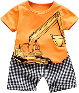 Topgrowth Neonato Unisex Camicia Stampa Balena Cime T-Shirt Ragazzi Ragazze Maglietta a Maniche Corte Felpe Cartoon