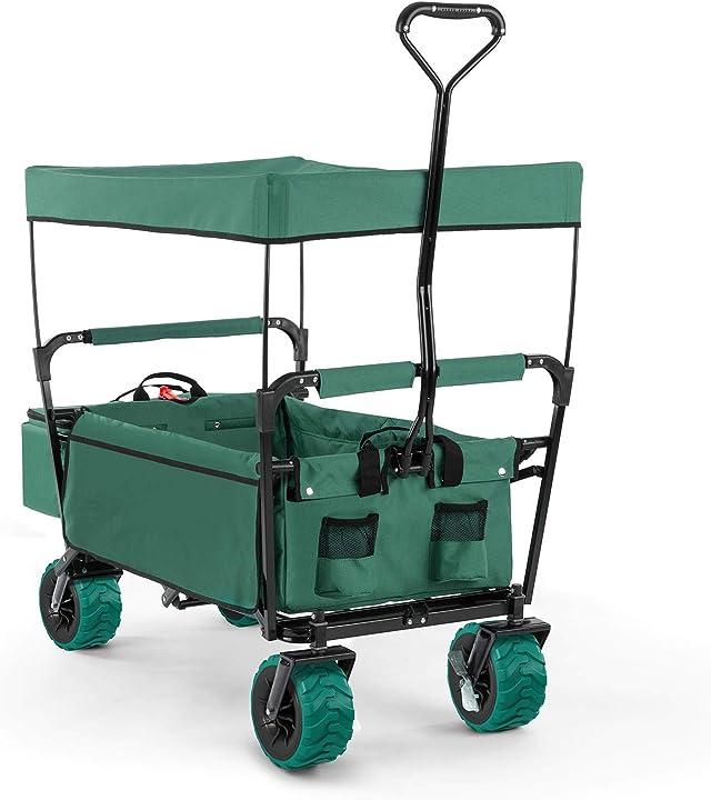 Carretto a mano pieghevole (capacitá di carico fino a 68 kg tettuccio parasole borsa termica removibile B01M2V26ZX