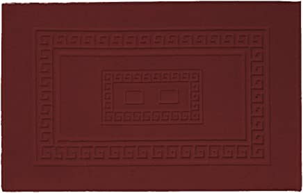 7c2ee04c4a Biancheria Store Tappeto Bagno Bordeaux 60X180 CM Misto Cotone Made in Italy