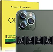 [4 Pack] QHOHQ Camera Lens Protector for iPhone 11 Pro(5.8