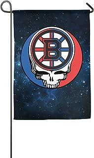SYY Skull Boston Hockey Sporting Occasions Garden Flag 12*18 Inch