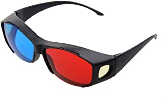 3D Glasses Direct Plastic Anaglyph 3Dstereo Glasses (Red and Cyan)