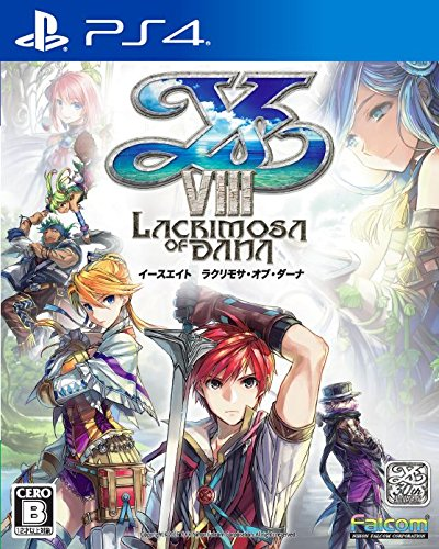 Ys VIII - Lacrimosa of Dana First Press Edition [PS4][Importación Japonesa]