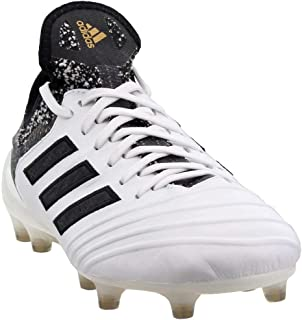 Mens Copa 18.1 Firm Ground Soccer Casual Cleats, White, 8.5