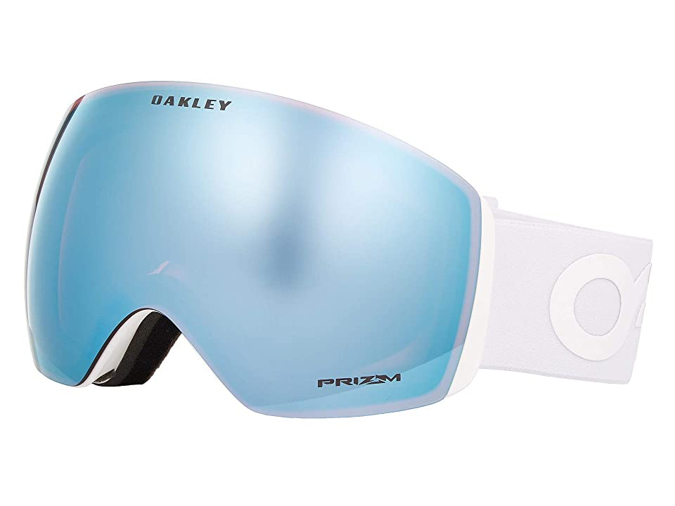 Oakley Flight Deck Large (Factory Pilot Whiteout/Prizm Sapphire) Snow Goggles