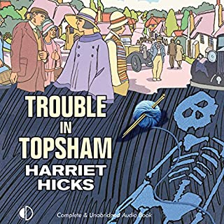 Trouble in Topsham audiobook cover art