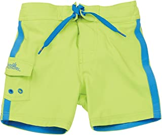 UV SKINZ UPF 50+ Baby Boy Racer Stripe Board Shorts-
