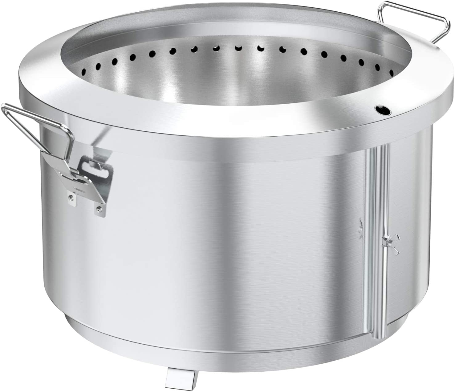 onlyfire 24 Inch Deluxe Stainless Steel Max 78% OFF Po Outdoor Pit Fire Smokeless