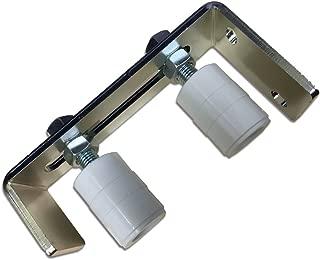Adjustable Bracket Guide Roller with Sliding Rolling Gate 3 1/2