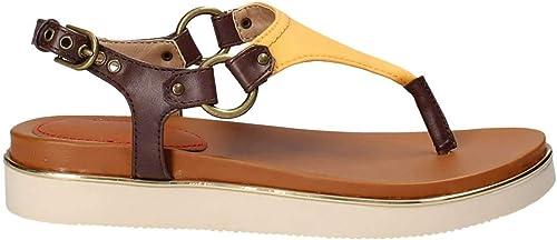 Wrangler chaussures WL181715 WL181715 Sandales Femme Jaune 39  magasin fashional à vendre