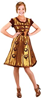 Morris Costumes Women's Doctor WHO Dalek Dress SM MED