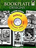 Bookplate Designs CD-ROM and Book (Dover Electronic Clip Art)