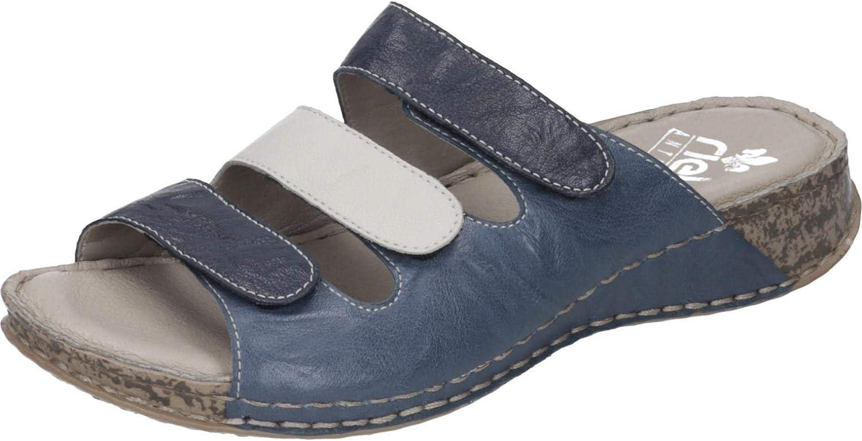Rieker kvinnor -Pantolette - F blå (5)