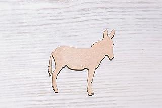 7 cm Set di 10 cuori in legno compensato tagliato al laser EW0558 decorazioni artigianali per decoupage non dipinte sagoma in legno compensato