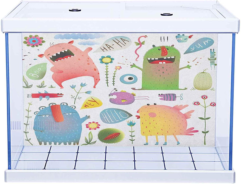 Fish Tank Background Aquarium Sticker Style Under blast sales Monochr Sketch safety Money