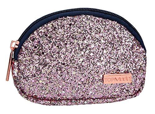 Depesche 10179 Mini Tasche TOPModel, Glitzer rosa, bunt