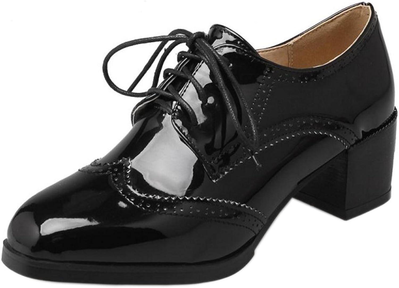 KemeKiss Women Lace Up Heels Pumps