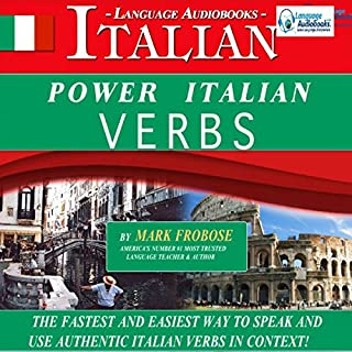Couverture de Power Italian Verbs: English and Italian Edition