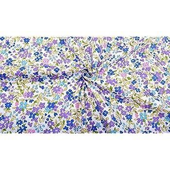 Liberty afirmó-Primula Posey-Turquesa 735C 100/% Tela De Algodón