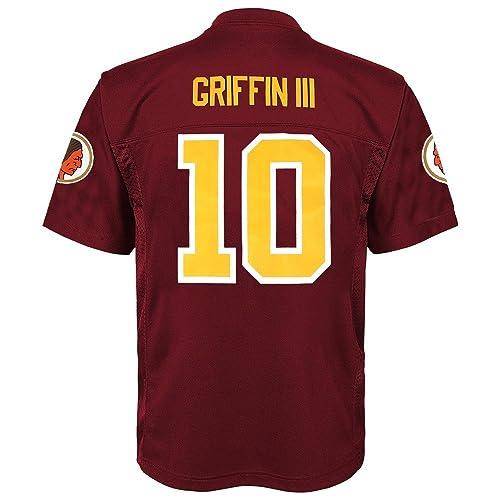 7d3212713 Outerstuff NFL Washington Redskins Robert Griffin III RG3 Youth Jersey  Burgundy