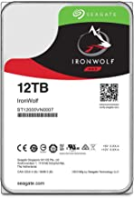 Seagate IronWolf 12TB NAS Internal Hard Drive HDD – 3.5 Inch SATA 6GB/S 7200 RPM 256MB Cache for Raid Network Attached Sto...