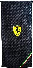 Sassoon Ferrari Printed Cotton Bath Towel - Black