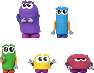 Fisher-Price StoryBots Figure Pack, set of 5 figures featuring characters from the Netflix series for preschool kids ages ...